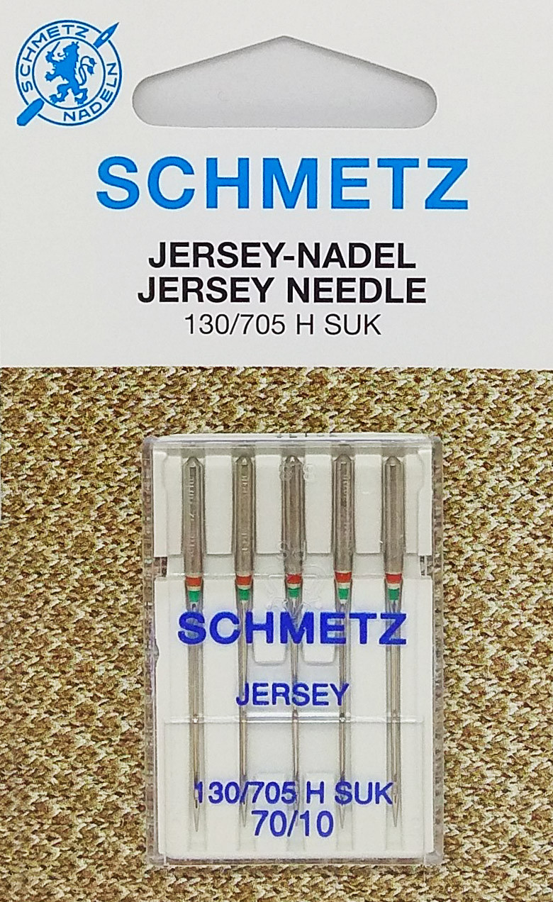 Иглы для трикотажа Schmetz JERSEY №70