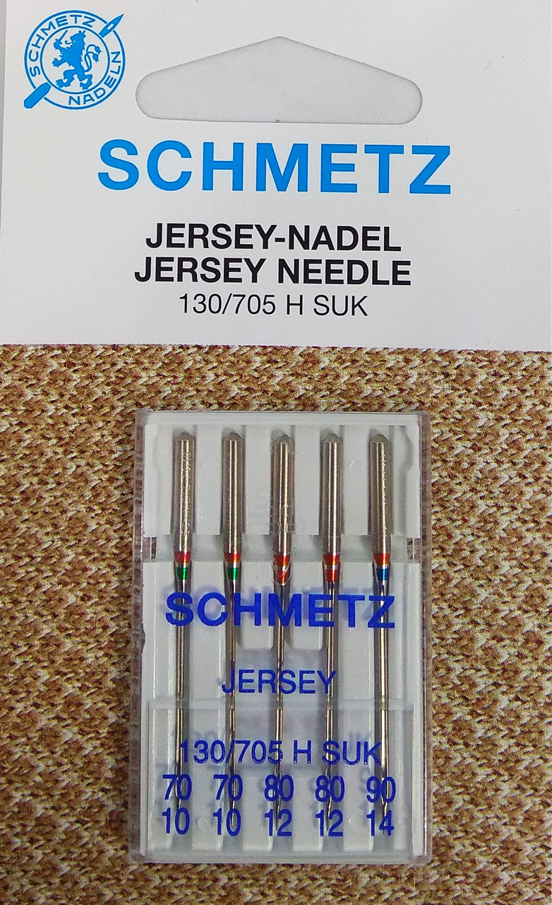 Иглы для трикотажа Schmetz JERSEY №70-90