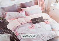 """Комплект постельного белья размер евро """"TIROTEX"""" купить недорого от прямого поставщика"""