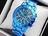 Женские наручные часы Pandora синего цвета на металлическом браслете