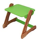 Детский столик и стульчик зеленый от производителя! (с регулировкой), фото 4