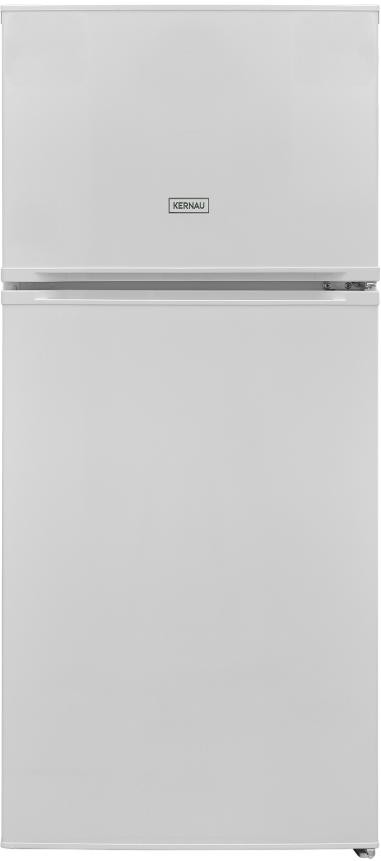 Белый холодильник с морозильной камерой Kernau KFRT 12152 W