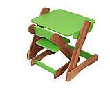 Детский столик и стульчик зеленый от производителя! (с регулировкой), фото 2