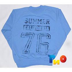 """Реглан """"SUMMER"""" , из трикотажа , для мальчиков (5-8 лет)"""