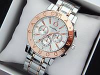 Женские наручные часы Pandora комбинированные - серебро-розовое золото, металлический браслет, фото 1