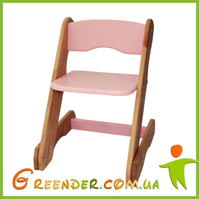 Детский стульчик розовый от производителя! (с регулировкой)