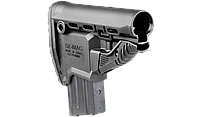 Приклад FAB для M4 с держателем магазина, черный (без буферной трубы) (GLMAGB)