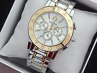Женские наручные часы Pandora комбинированные - серебро-золото, металлический браслет, фото 1