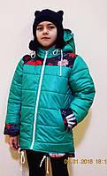 Курточка для девочки  детская демисезонная,куртка , р-р 128