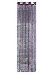 Шторы Декоративные Eurofirany 2 шт 0878 140x250 см Фиолетовые