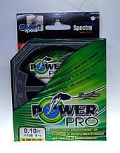 Шнур плетёный Power Pro 135м. 0.10мм (желтый) 5кг оригинал