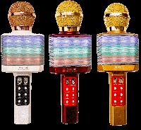 Портативний бездротової блютуз мікрофон WS-1828 + караоке, фото 1