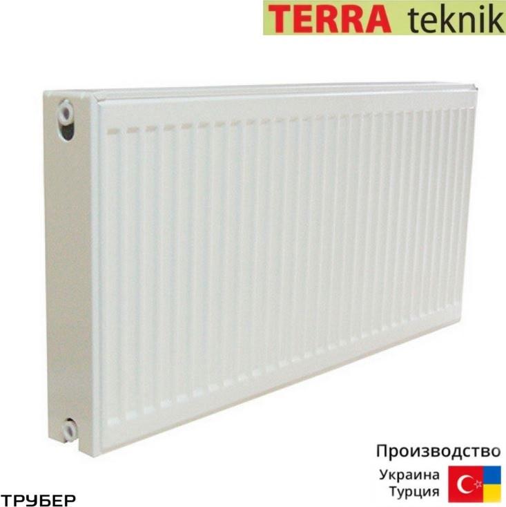 Стальной радиатор 11 тип 300*1400 Terra Teknik боковое подключение