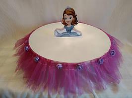 Принцесса София- декоративная подставка для кенди баров