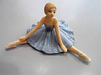 Статуэтка Балерина в голубом платье и пуантах, фото 1