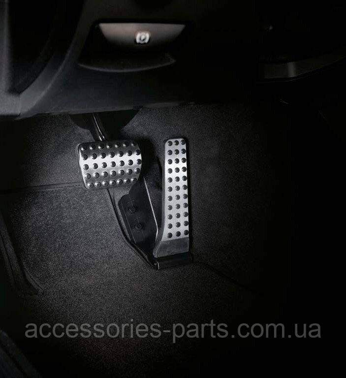 Накладки на педали AMG Mercedes-Benz E-class W213 С238 coupe/ C-class W205/ S-class W222 2015-/ GLE-class V167