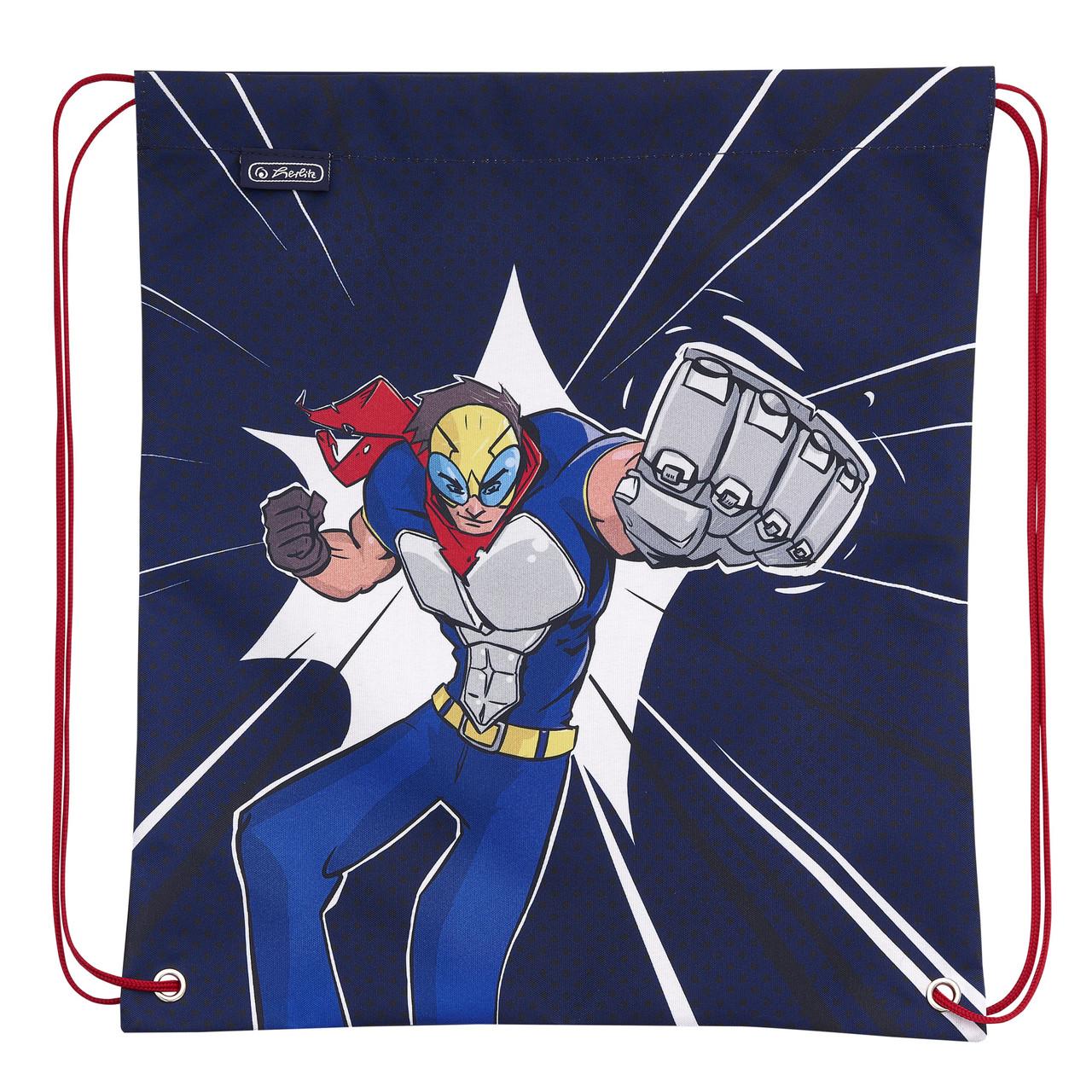 Сумка для обуви Herlitz Super Hero Супергерой (50021314S)