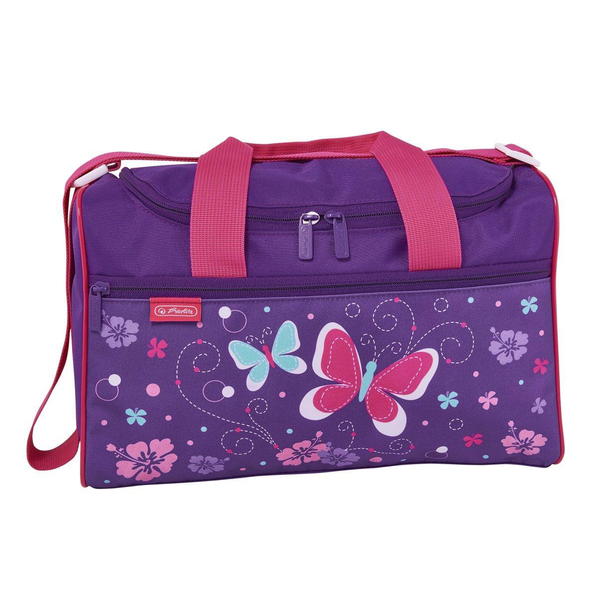 Сумка спортивная Herlitz Sportbag XL Butterfly Бабочки (50021864)