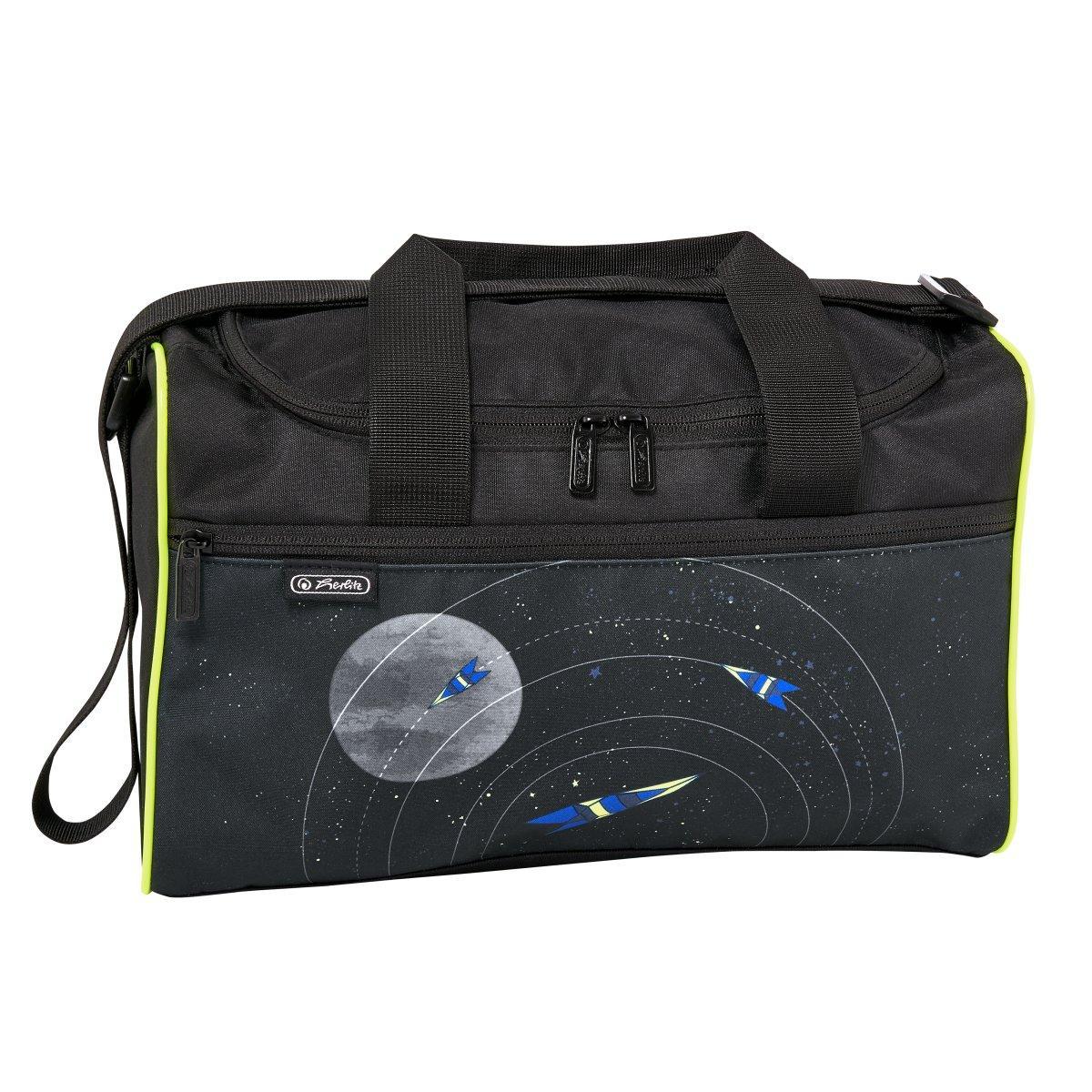 Сумка спортивная Herlitz Sportbag XL Space Космос (50021895)