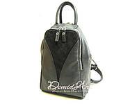 Вместительный кожаный рюкзак., фото 1