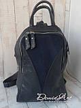Вместительный кожаный рюкзак., фото 7