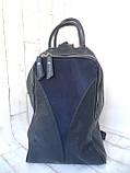 Вместительный кожаный рюкзак., фото 6