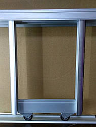 Раздвижные системы для шкафов купе на 3 двери для самостоятельной сборки Ш2400мм х В600мм
