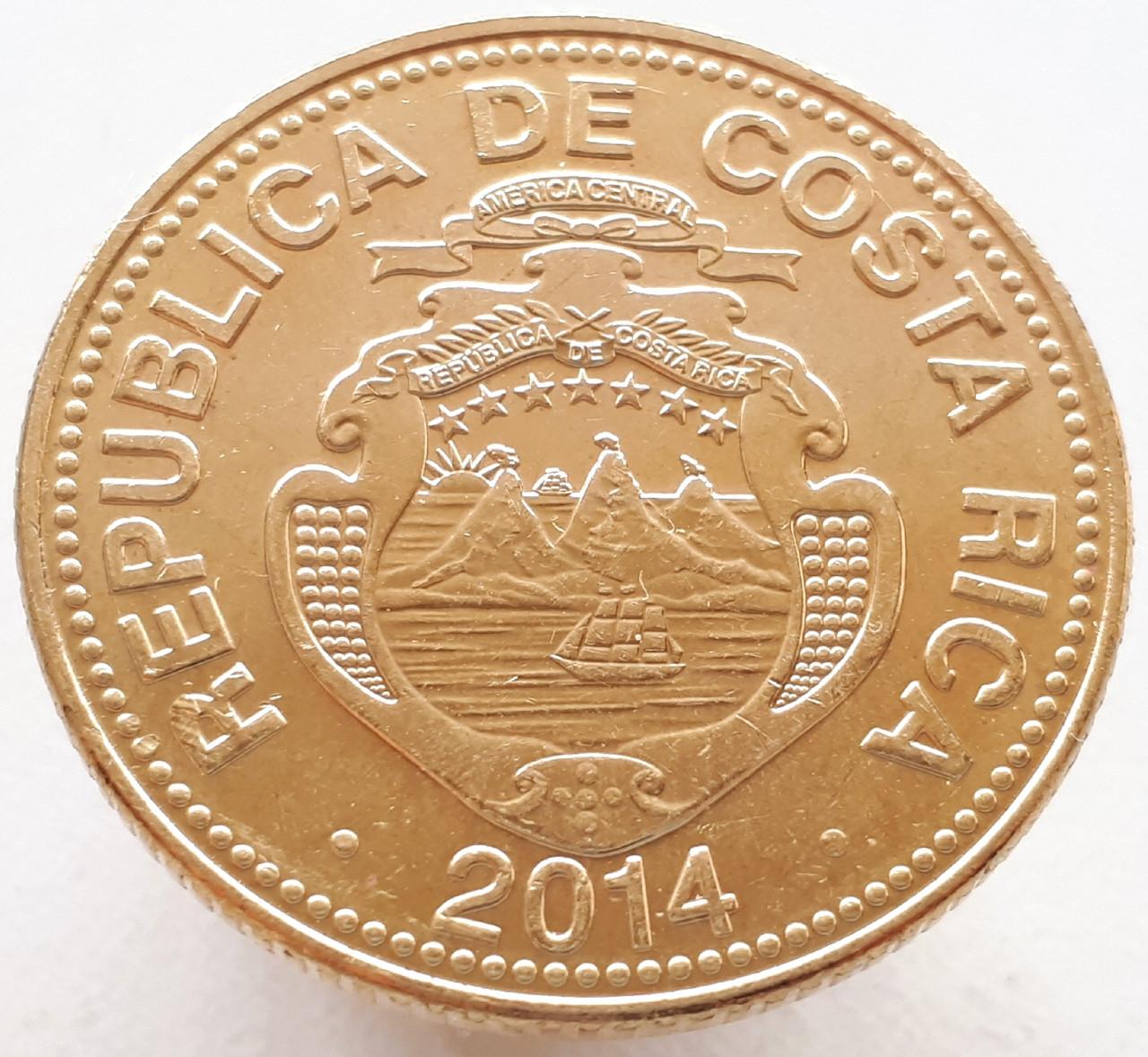 Коста-Ріка 100 колонів 2014