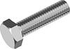 Болт М4х6 с шестигранной головкой кл. пр. 8.8, сталь ЦБ,полная резьба DIN 933