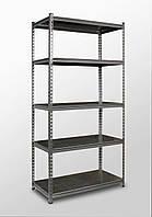 191х91х45, 5 металлических полок 250 кг на полку Стеллаж Unirade оцинкованный полочный для дома в офис склад