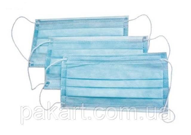 Упаковка масок медицинских