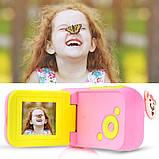 """Цифровая Видеокамера для детей UrbanKids 1,77"""" дисплей фото/видео Розовая, фото 7"""