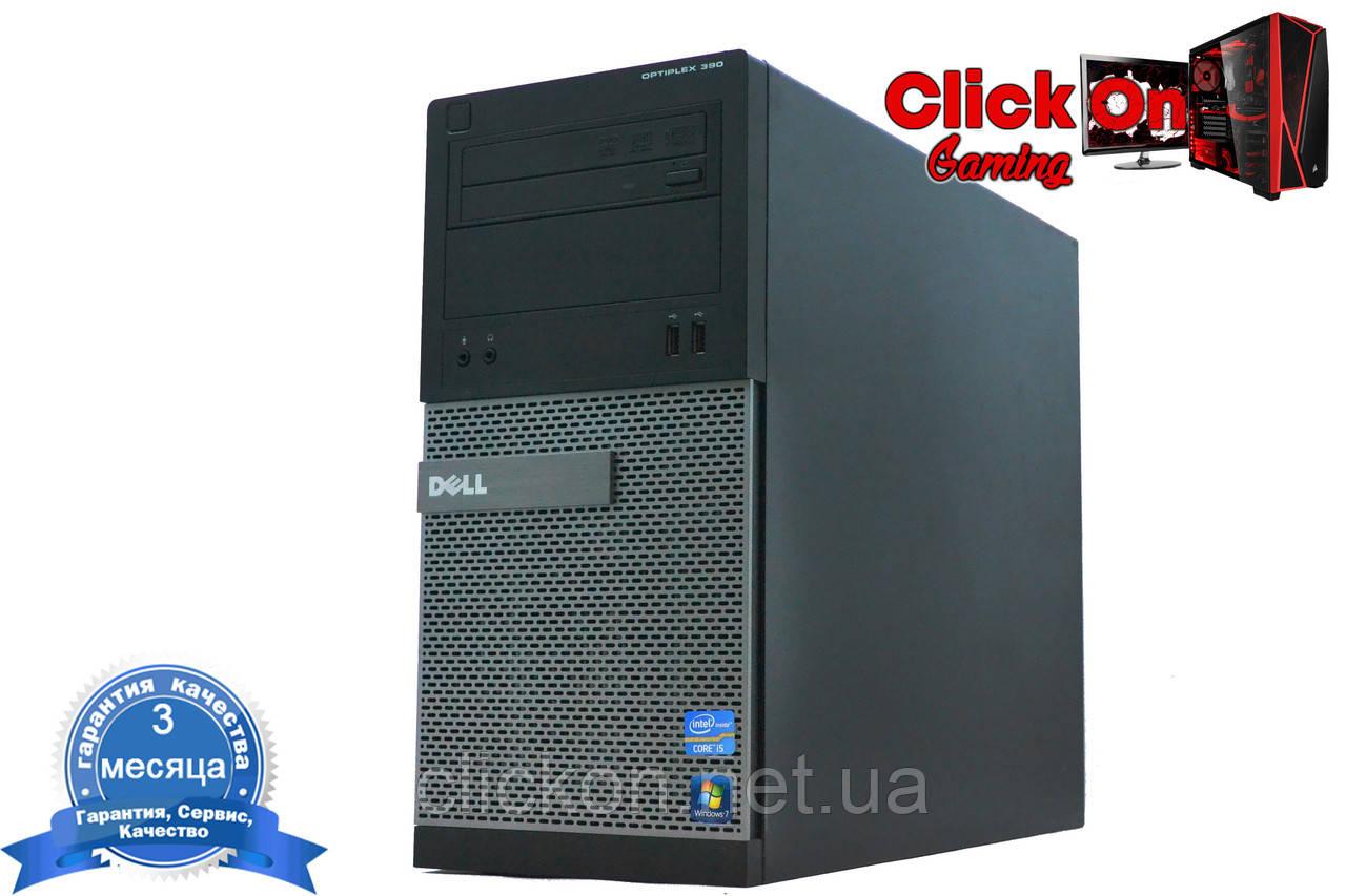 Игровой компьютер Dell Optiplex 790 Core i3-2120 3 3 Ghz/ 8gb / 320/ AMD RX  550/ Гарантия