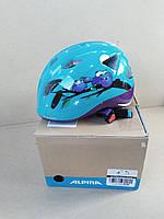 №17  Детский шлем ALPINA Ximo Flash 45-49 cm Owls , фото 1