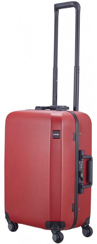 Малый чемодан из поликарбоната Lojel RANDO FRAME 44 л красный