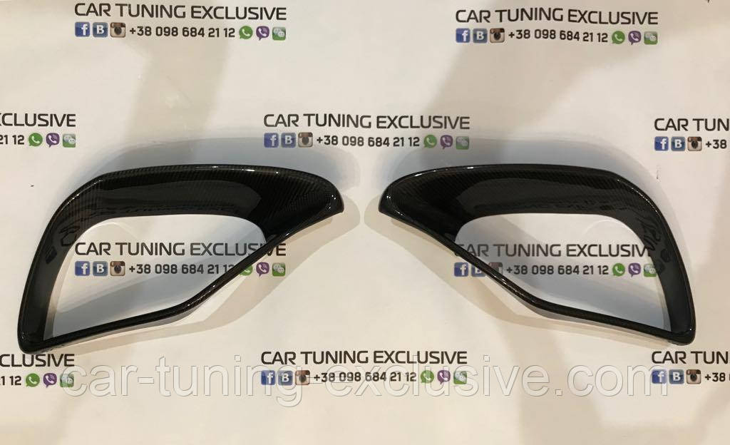 BRABUS carbon front fascia attachments for Mercedes S-class coupe / cabriolet C217