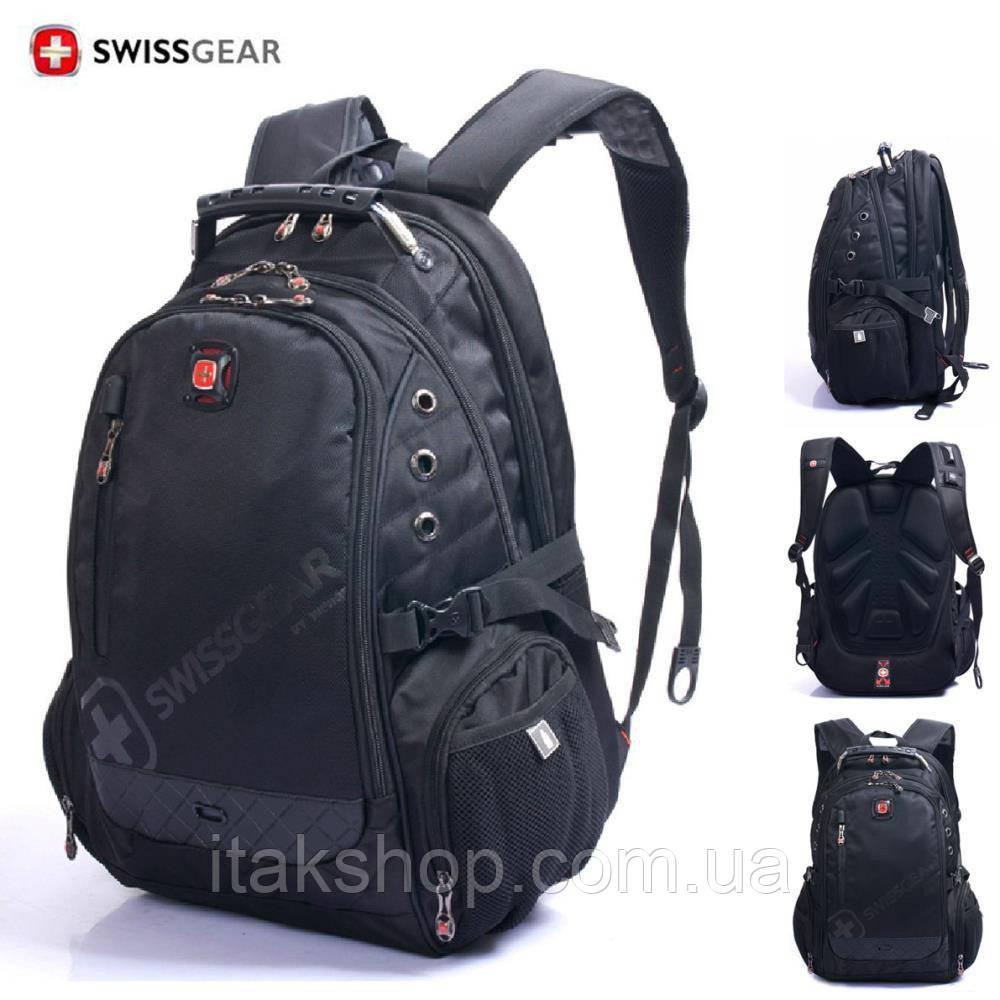 Швейцарский городской Рюкзак SwissGear 8810 (Оригинал) Черный