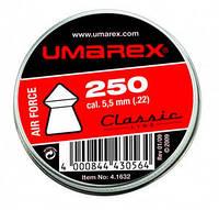 Пульки пневм. Umarex Air Force 5.5mm 0,9g (000004-500)