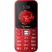 Телефон-bluetooth колонка с мощным фонариком и мощной батареей с функцией PowerBank Sigma Boombox красный, фото 1