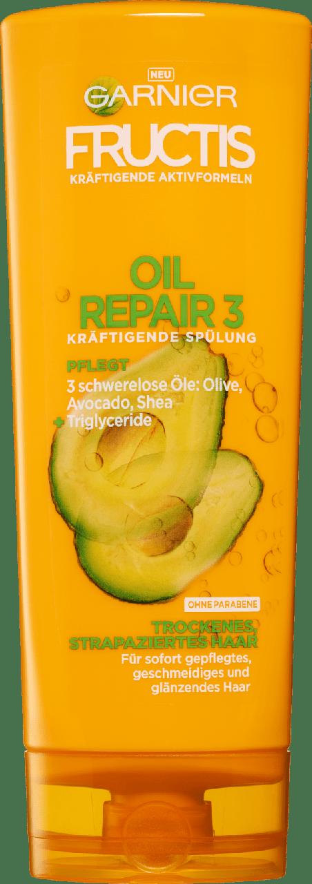 Кондиционер для сухих и поврежденных волос GARNIER FRUCTIS Oil Repair 3, 250 мл.