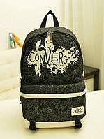 Рюкзак міський Converse, чорний, фото 1
