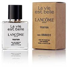 Туалетная вода женская Lancome La Vie est belle edp 50 ml, Orign Tester, эко упаковка
