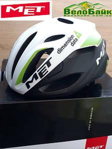 Велошолом MET RIVALE Road L 59-62 см білий/чорний/зелений