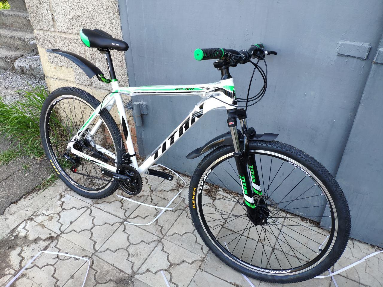 🚲Горный алюминиевый велосипед  TITAN ATLANT DD 2019; рама 21; колеса 29