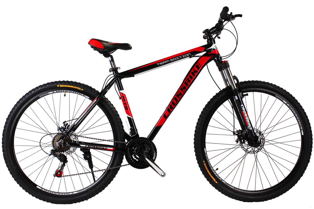 🚲Горный алюминиевый велосипед CROSS HUNTER DD 2019 (Shimano, моноблок, Lockout); рама 20; колеса 29