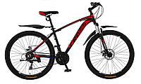 🚲Горный алюминиевый велосипед CROSS LEADER (Disk, моноблок, 21 speed); рама 17; колеса 27,5, фото 1