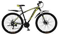 🚲Горный алюминиевый велосипед CROSS LEADER (Disk, моноблок, 21 speed); рама 19; колеса 29, фото 1