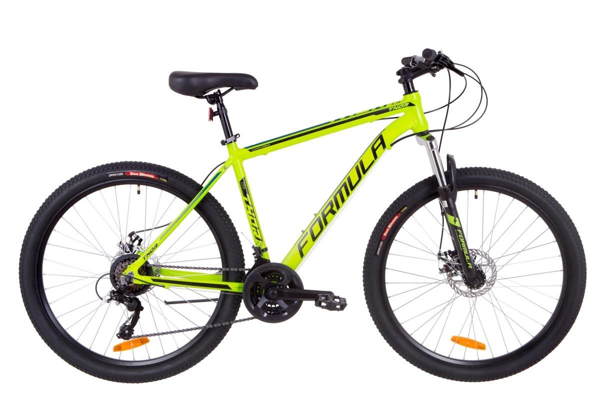 🚲Горный алюминиевый велосипед FORMULA THOR 2.0 DD (21sp, монобл); рама 19; колеса 27,5
