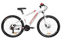 🚲Горный алюминиевый велосипед Optima F-1 HDD 2019 (Shimano, моноблок, LockOut, 100mm, HYDRO); рама 18; колеса 27,5, фото 1