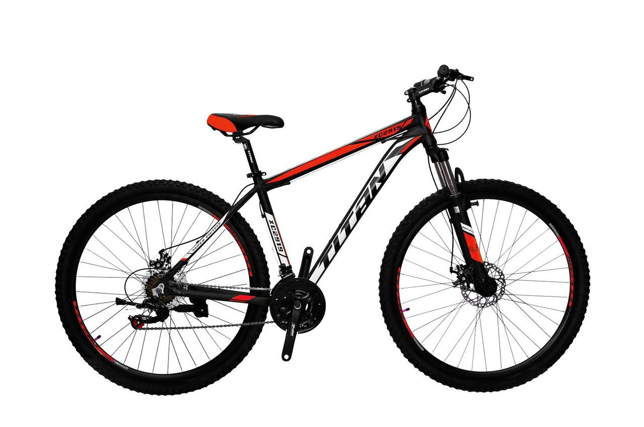 🚲Горный алюминиевый велосипед TITAN ATLANT DD 2019; рама 18; колеса 29